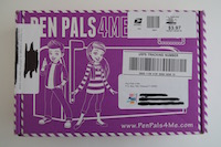 Pen Pals 4 Me Subscription Box Review